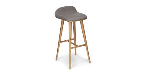 sede thunder gray oak bar stool stools article