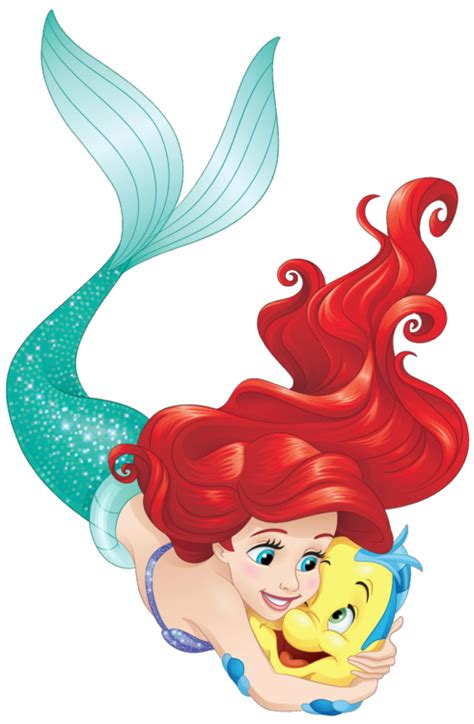 imagenes en png de la sirenita flounder artwork tumblr