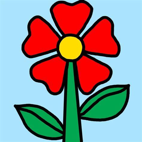imagenes animadas jpg dibujos de flores dibujos de flores para ni 241 os