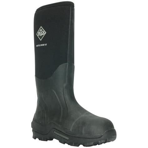 s muck boots 17 quot arctic sport steel toe waterproof