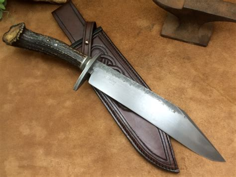custom bowie knife makers seax bowie knife bowie knives and blade