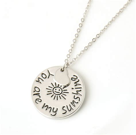 you jewelry 2015 new fashion jewelry quot you are my quot letter