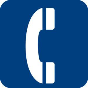 clipart telefono blue phone symbol clip at clker vector clip