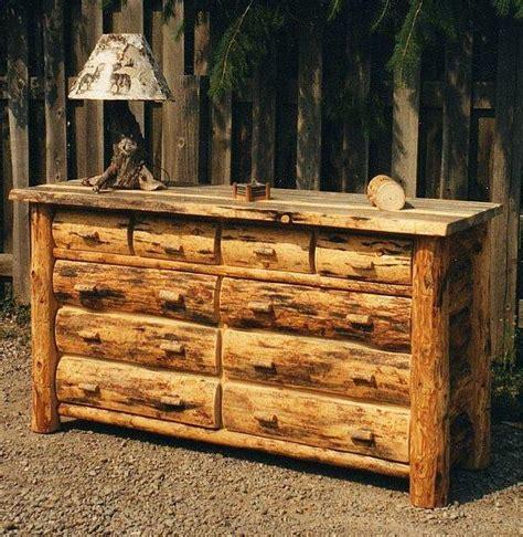 log furniture gallery log dresser