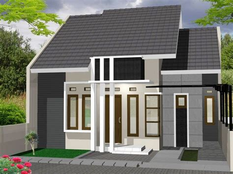 membuat rumah hijau 40 model rumah cantik minimalis 1 lantai modern 2017
