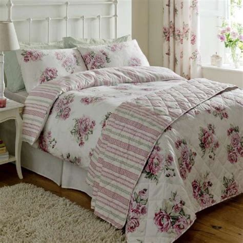 mia vintage rose print duvet set luxury bedding set 300 thread count bedding double bed size pink