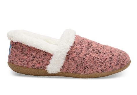 Womens Comfort Slippers by Faded Woolen S Slippers Toms 174
