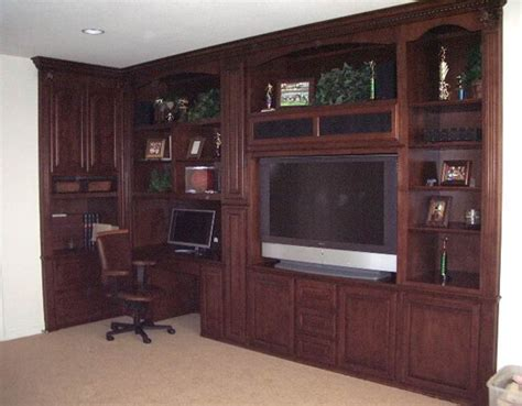built in wall unit with desk and tv built in entertainment wall units joy studio design