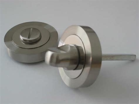 bathroom door handle and lock satin steel finish bathroom lock thumb turn bathroom