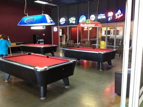 Backyard Bowling Pool Table Bowling Alley Picture Of Schulman Theatres Lost Pines 8