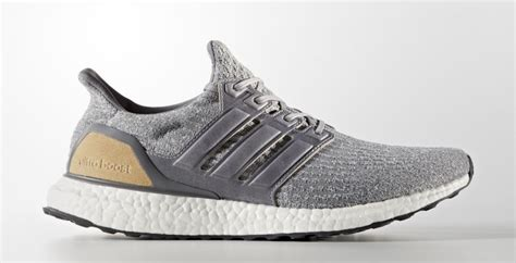 Adidas Ultra Boost 3 0 Grey Leather Cage Original Sneakers adidas ultra boost 3 0 grey leather cage bb1092 sneaker bar detroit