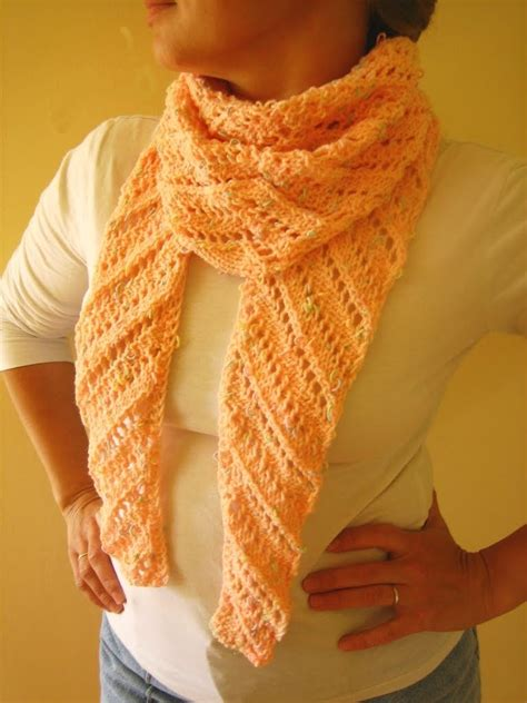 knitting pattern diagonal scarf all knitted lace diagonal lace baktus