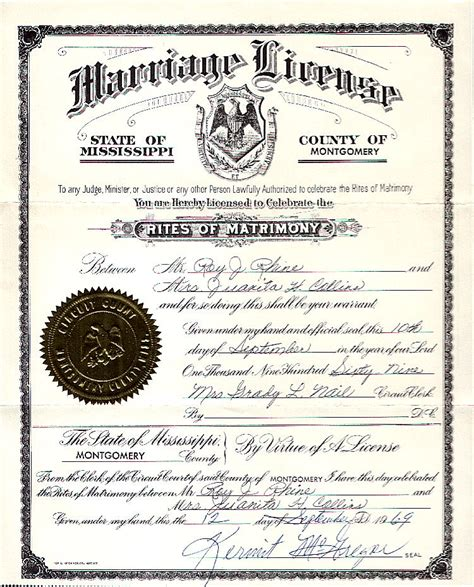 Ms Marriage Records Image Gallery Marriage Licenses 2016