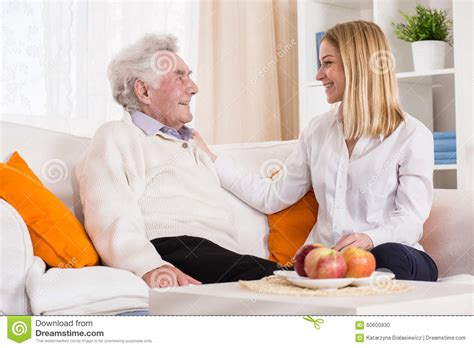Professional Home Health Care by Visiting Stock Photo Image 60600930