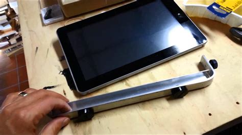 tablet wall mount diy car tablet mount diy youtube
