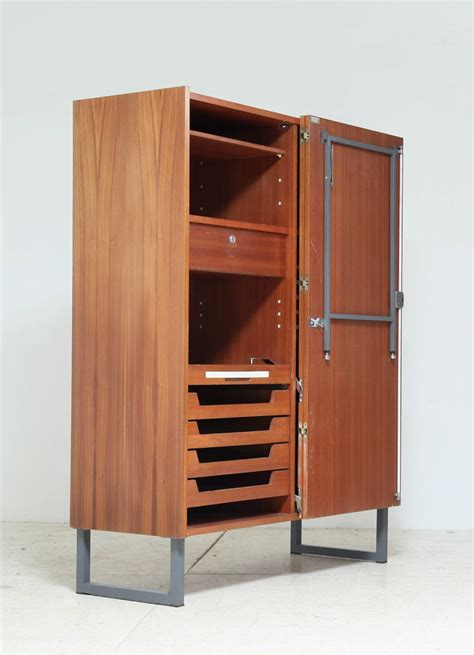 storage cabinet with fold out table fold out desk for sale at 1stdibs