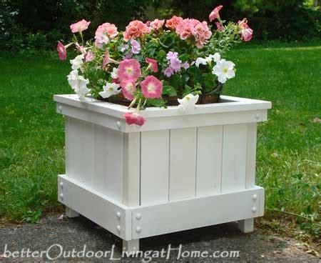 Diy Patio Planter Box by Diy Outdoor Planter Box Diy Plans For Planter Box