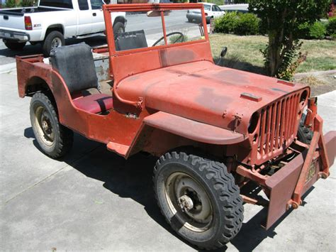 willys jeepster for sale 1945 willys mb wwii military jeep for sale