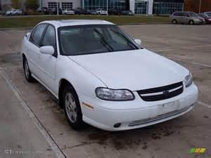 2002 bright white chevrolet malibu ls sedan 20922255