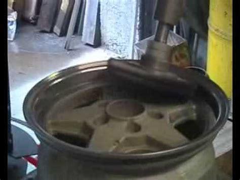 Chrom Alu Polieren by Felge Polieren Rim Buffing Manutec 3 Youtube