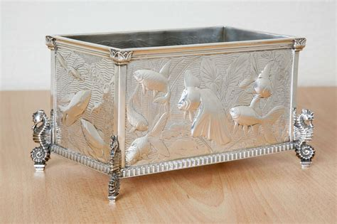 sterling silver jardiniere at 1stdibs