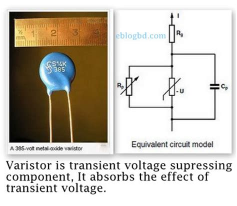 is varistor a resistor functions characteristics of varistor a transient voltage protection component