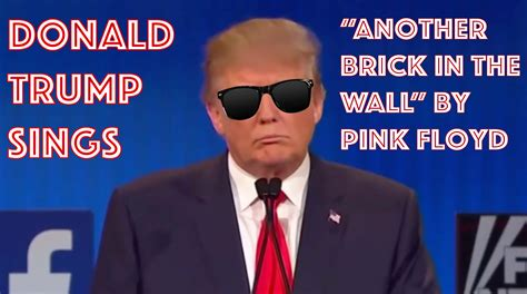 donald trump song donald trump sings pink floyd youtube