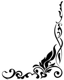 best flower clipart black and white 13576 clipartion best black and white flower border 15731 clipartion