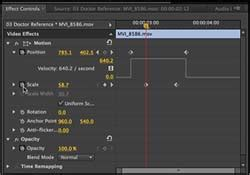 adobe premiere pro quick tips tip 6 quickly adding and adjusting effects more quick
