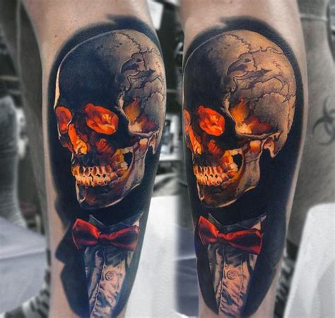 great and classy badass skull tattoos golfian com