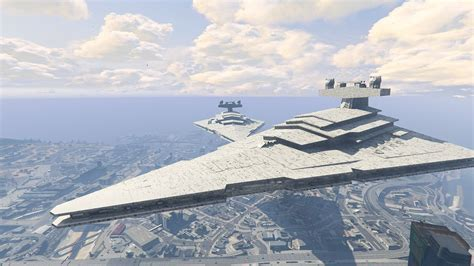 pubg empire gta 5 mod adds imperial star destroyer to los santos pc