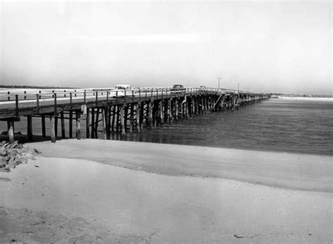 St Johns County Florida Court Records Florida Memory Cars On Matanzas Inlet Bridge