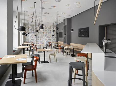 cafe  prague proves minimalist interiors   playful