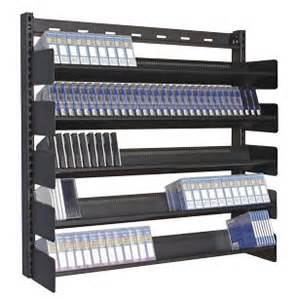 multi media wall mount media rack single sided