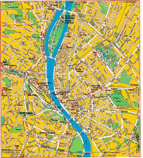 printable map budapest large budapest maps for free download and print high