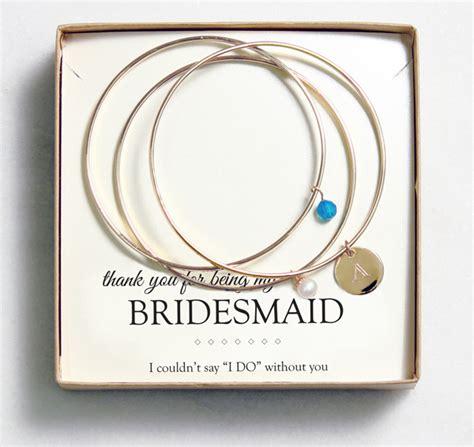 bridesmaid gift idea customizable jewelry from wedding