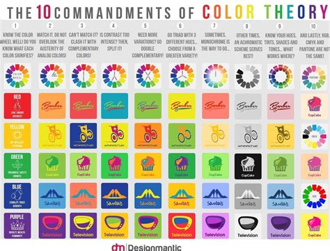 designmantic shipping theory of colours color theory cmoryl colortheory color