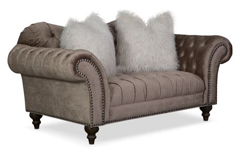 sofa loveseat and chaise set chagne