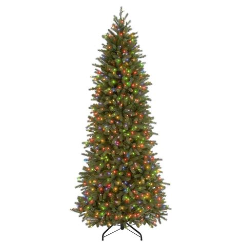 best real christmas trees in south jersey national tree company 7 1 2 ft feel real jersey fraser pencil slim fir hinged artificial