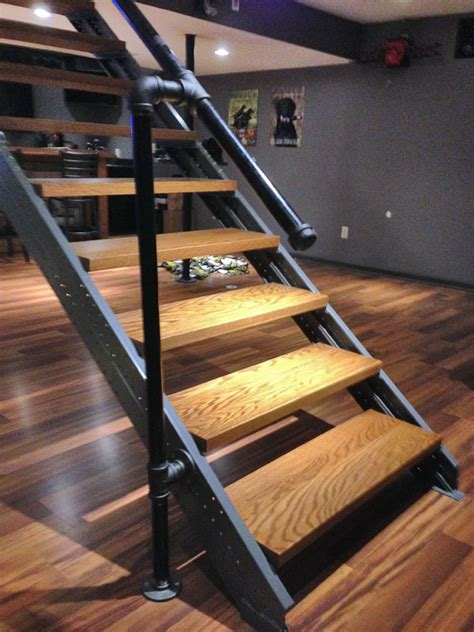 basement stair stringers by fast stairs