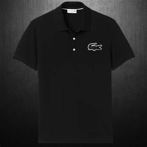Exclusive T Shirt Shirt Lacoste Lve Edition Premium Impor Grade Origi lacoste mens slim fit big crocodile pique black polo shirt limited edition malaabes