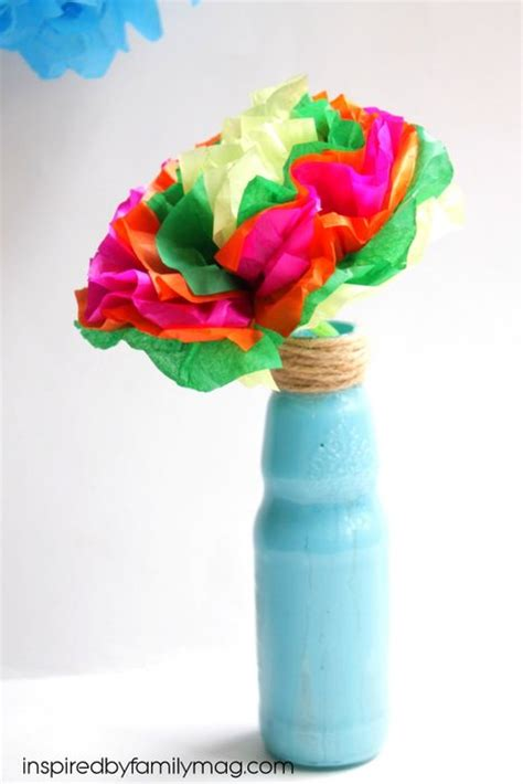 mexican paper crafts how to make tissue paper flowers