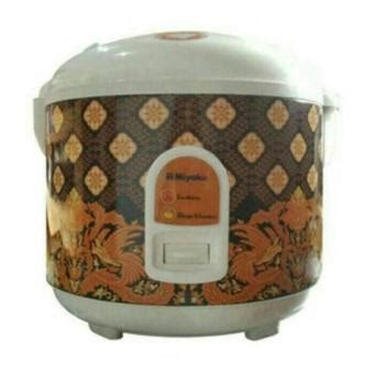 Miyako Magic 1 2 Liter Mcm612 daftar harga rice cooker miyako murah terbaru update