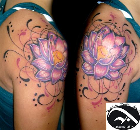 lotus flower tattoo on shoulder tattoos change lotus flower pictures