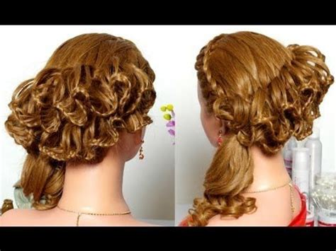 wedding hairstyles with braids youtube braided hairstyle for long hair праздничная прическа с