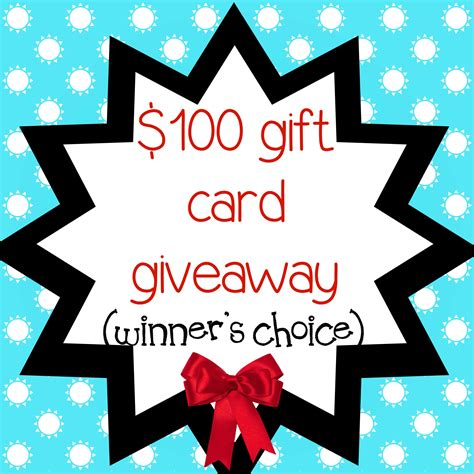 Gift Card Giveaway - 100 gift card giveaway life of creed