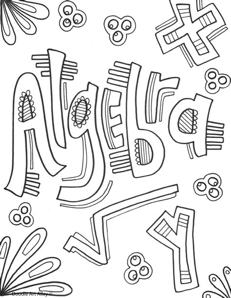 math book coloring page coloring pages for lots of school subjects oodles of