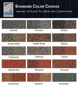roofing colors roof colors sc 1 st allmayer u0026 associates pc