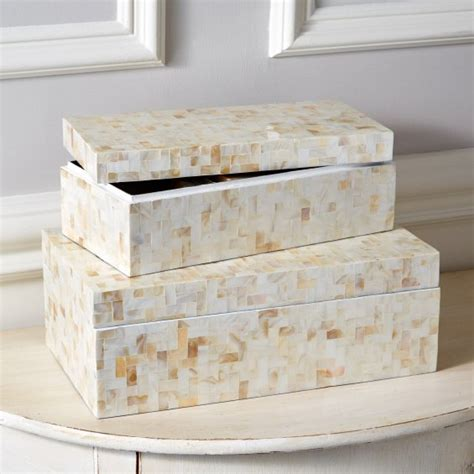 tozai home lac104 s2 lamina decorative covered box 2 sets