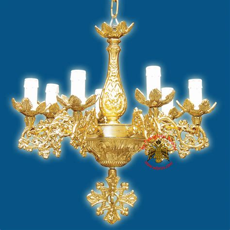 Orthodox Church Chandelier For 7 Electric Lights Church Chandeliers